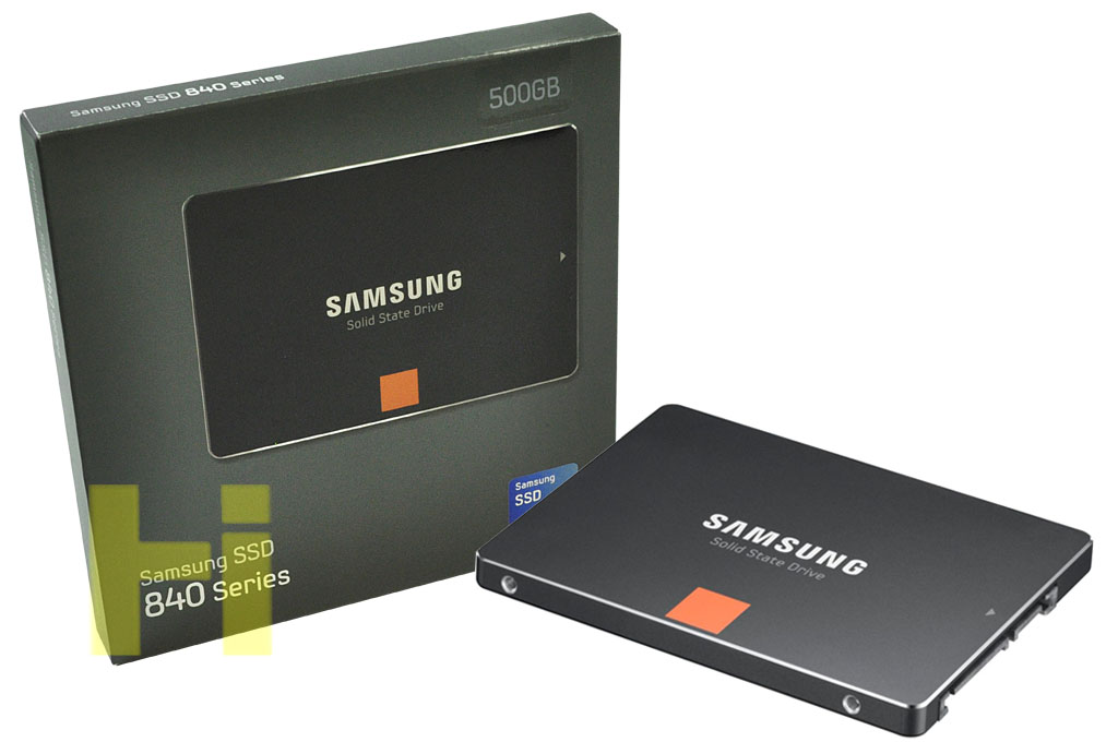 HDD Solid State Disk (SSD) 500GB Samsung 840 for Toshiba Tecra R850-1CD