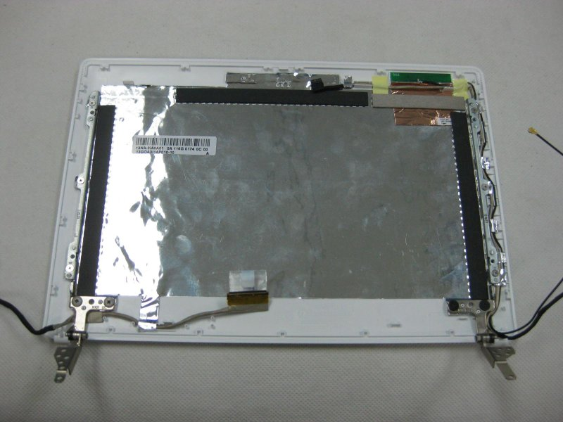 Asus 13GOA3I3AP011-10 X101-1G LCD COVER SUB ASSY