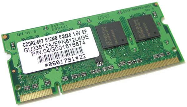Asus 04G001616674 DDRII667 SO-D 512MB 200P