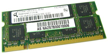 Asus 04G001617644 DDRII667 SO-D 1GB/128M*64 200P
