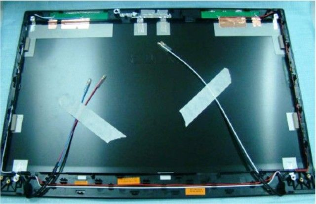Asus 13GN0L1AP052-1 B53F-1A LCD COVER 3G ASSY