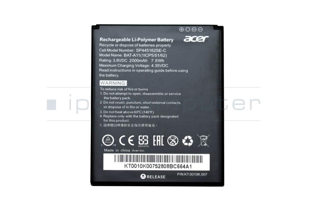 Akku 76Wh Original Fur Acer Liquid Z410